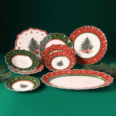 Zelený plytký tanier 29 cm Toy's Delight - 2