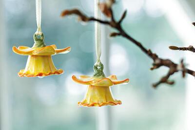 Závesné narcisy, 2 ks Mini Flower Bells - 2
