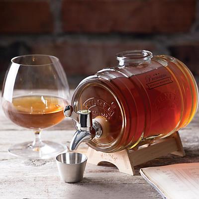 Automat na whisky v tvare suda 1 l Kilner - 2